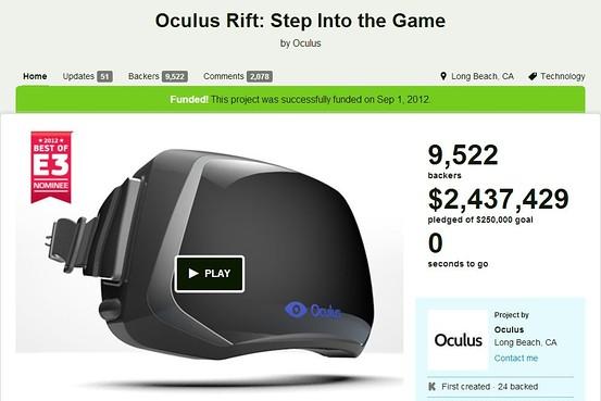 Za Kickstarter via WSJ