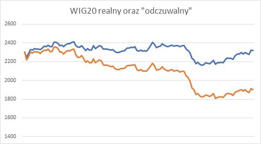 Odczuwany WIG20